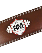 RingMasterUK Leather WeightLifting Belt Image 4