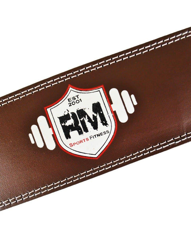RingMaster Sports Leather WeightLifting Belt Image 4