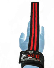 RingMaster Sports Wrist Brace Grip Padded Gym Weight lifting Strap image 2