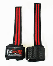 RingMaster Sports Wrist Brace Grip Padded Gym Weight lifting Strap image 3
