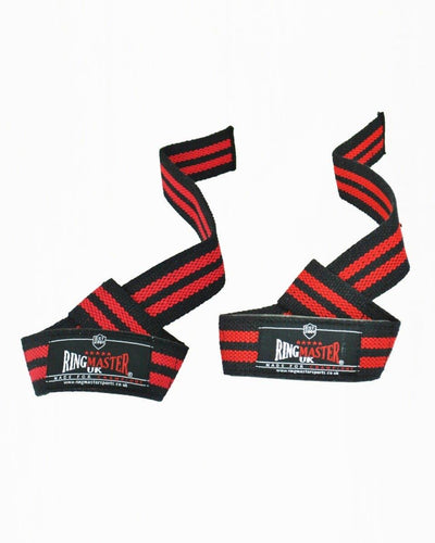 RingMaster Sports Cotton Weight Lifting Gym Wrist Strap image 1