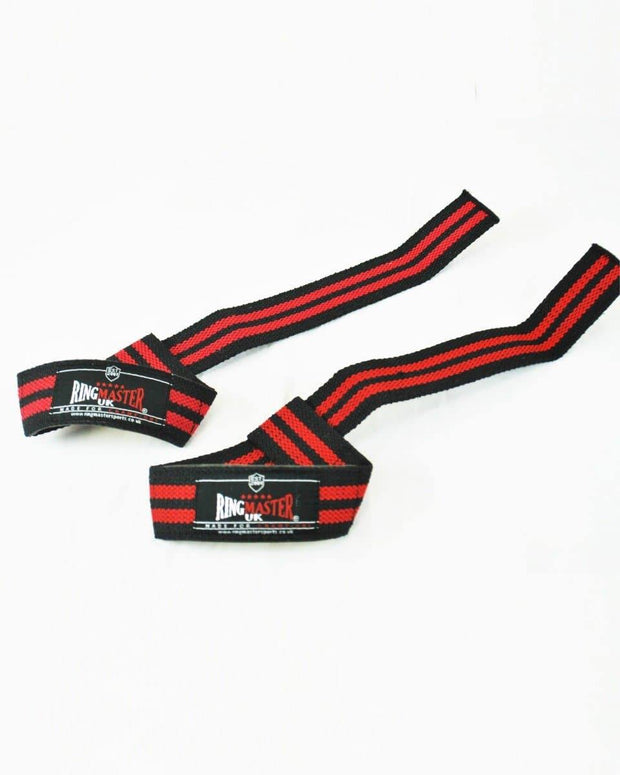 RingMaster Sports Cotton Weight Lifting Gym Wrist Strap image 2