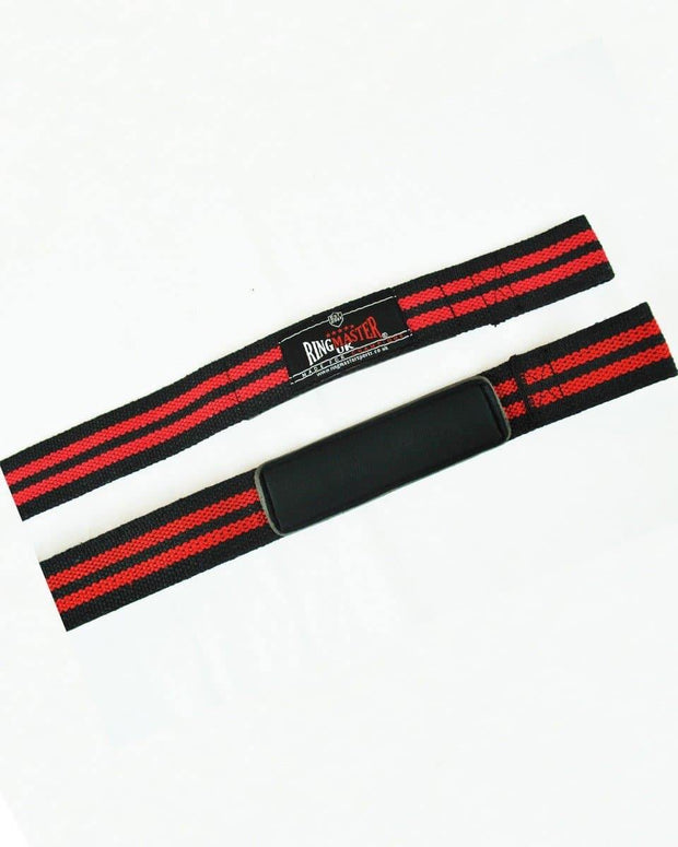 RingMaster Sports Cotton Weight Lifting Gym Wrist Strap image 3
