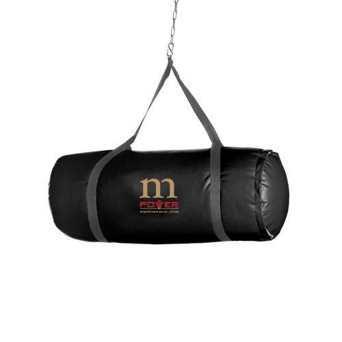 RingMaster Sports NMPower Heavy Punching Bag Upper Cut Genuine Leather Black