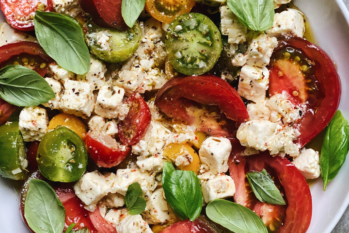 Shop The Recipe: Marinated Feta + Tomatoes