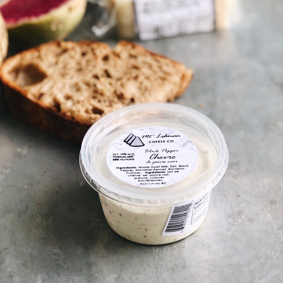 Black Pepper Chevre