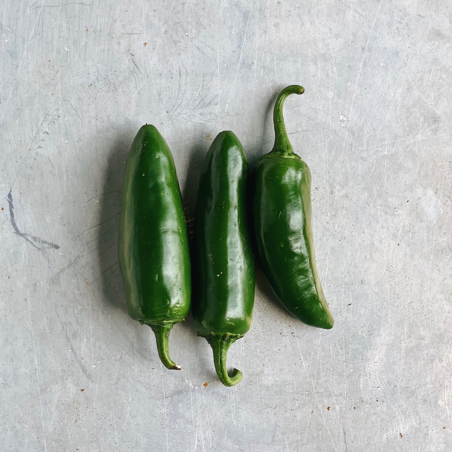 Organic Jalapeno Peppers