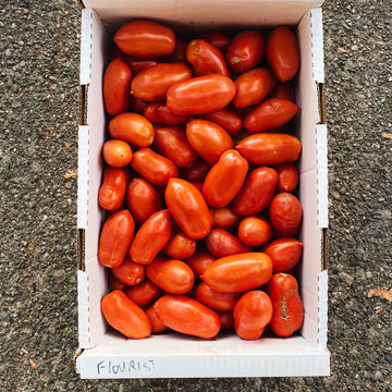 Case Lot Klippers Roma Tomatoes