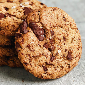 Vegan Tahini Chocolate Cookie