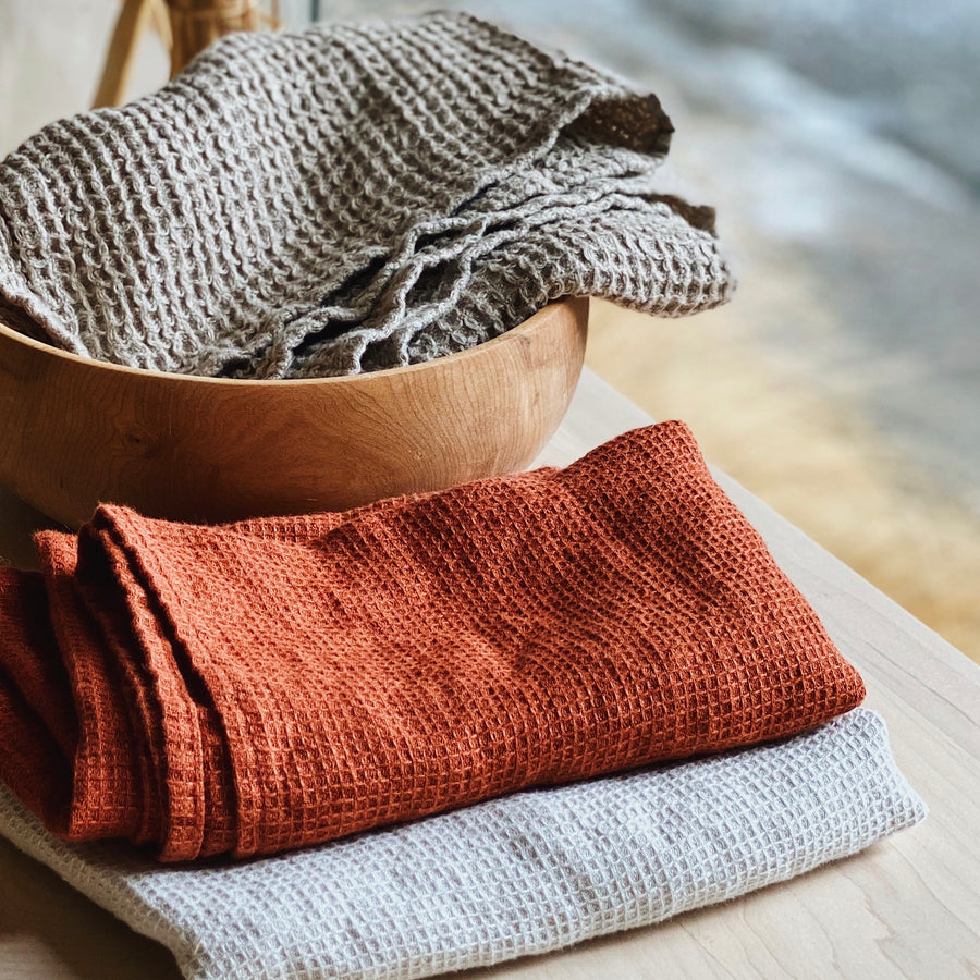 Flax Sleep + Flourist 100% Linen Tea Towel