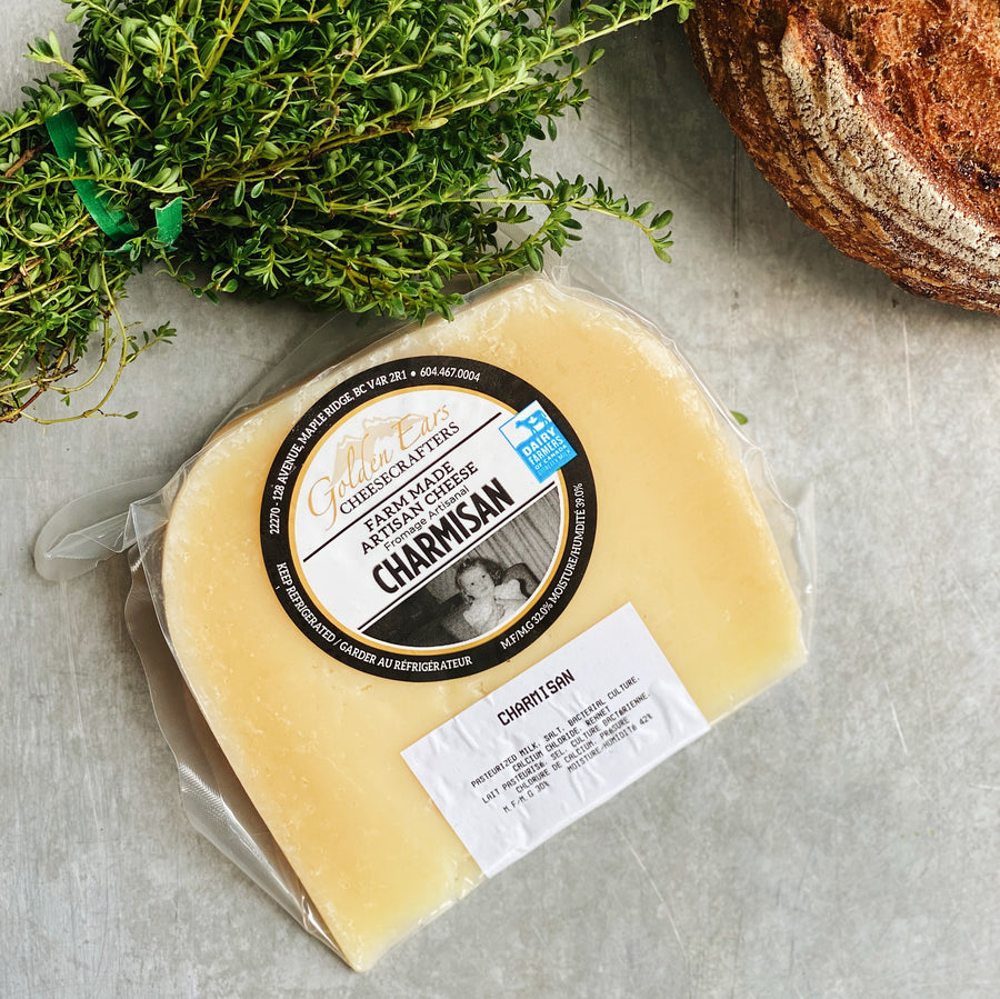 Golden Ears Charmisan Cheese