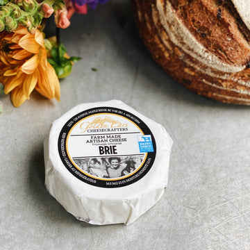 Golden Ears Classic Brie Cheese