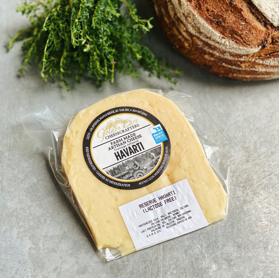 Golden Ears Havarti Reserve Cheese