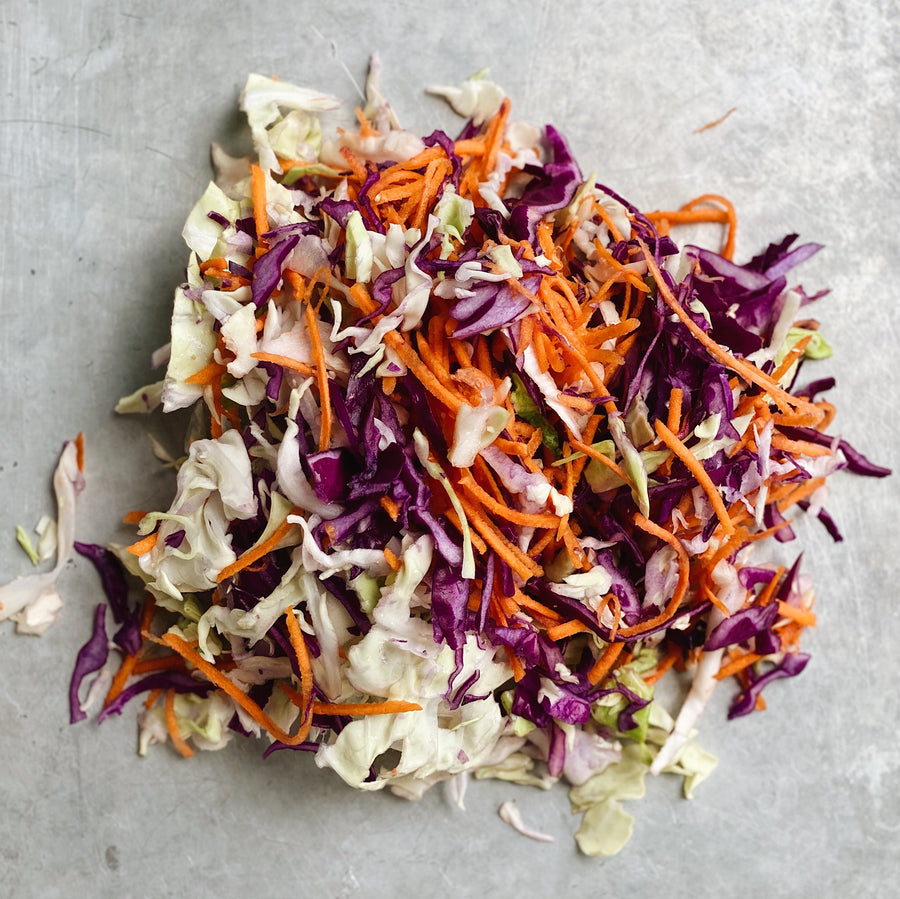 Cabbage Carrot Slaw Mix