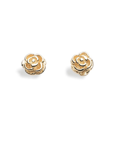 Ear Studs 344-02 : FLOWER, 9 carat gold