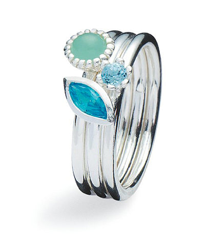 Ring combination : BLUE MONDAY