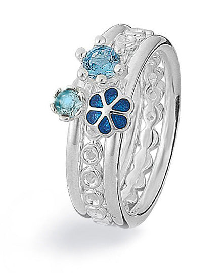 Ring combination : BLUE MYSTIC