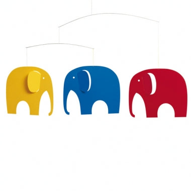 Flensted Mobile 'Elephant Party'