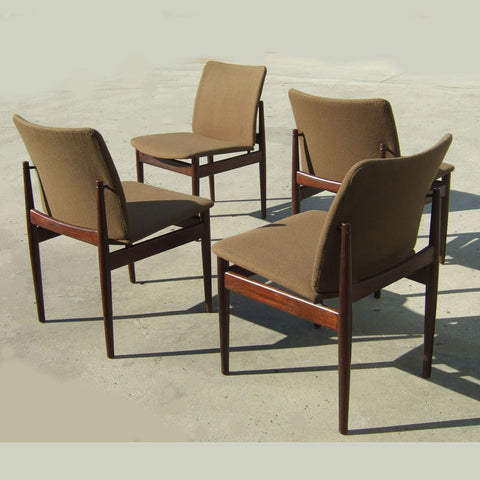 Set 4 vintage Finn Juhl chairs