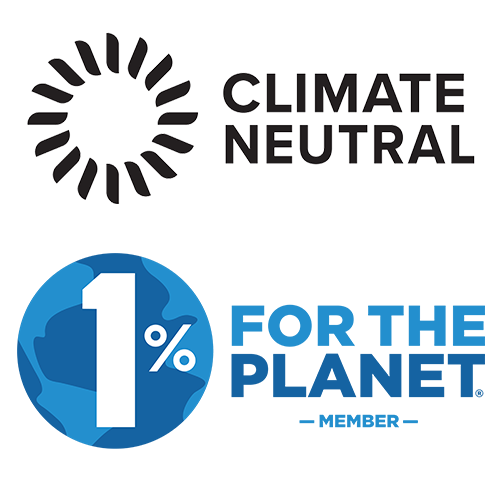 Luxya is proud to be Climate Neutral and a 1% for the Planet Member