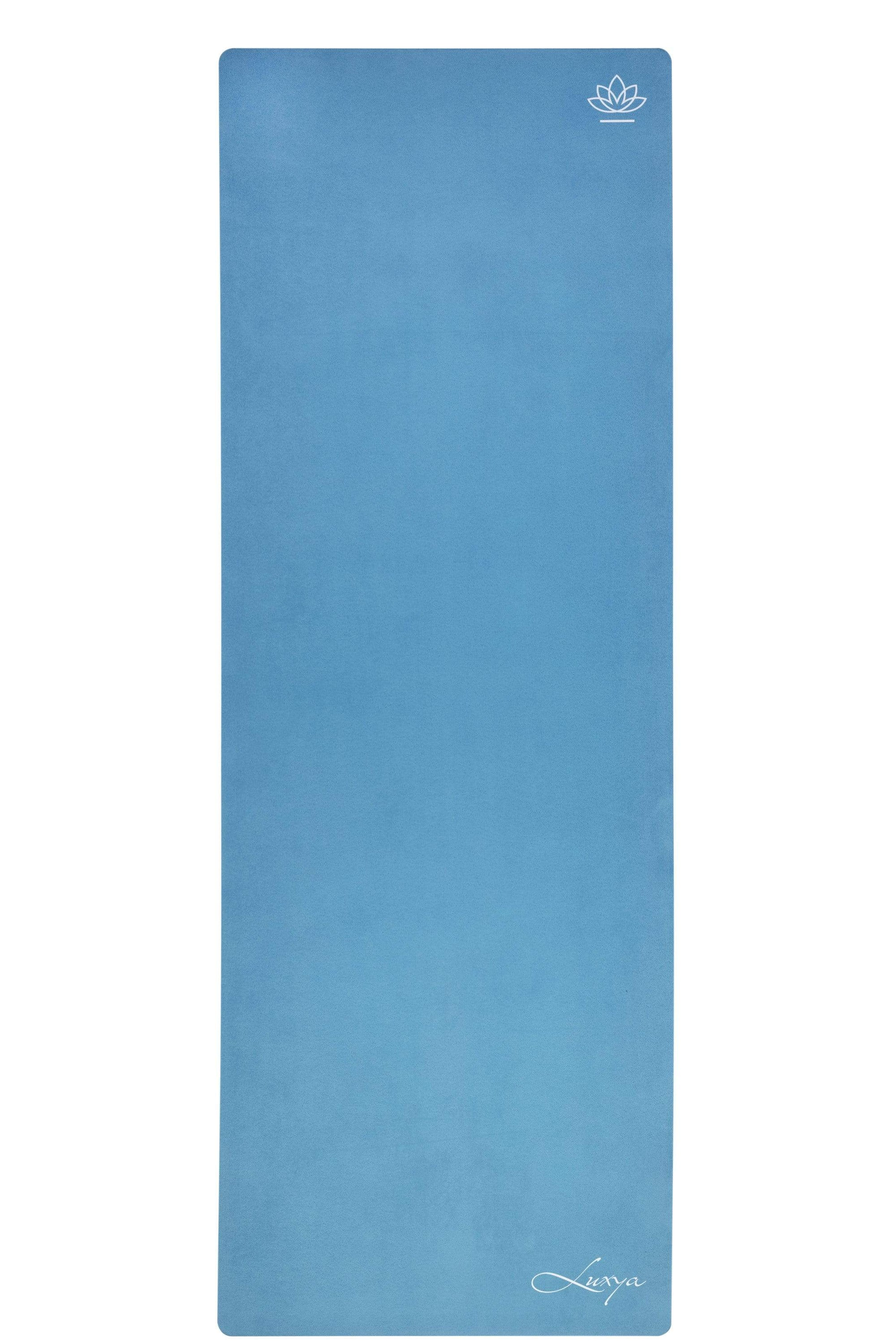 Luxury Yoga Mat Apheleia Blue - 3mm Luxury Yoga Mat Luxya Singapore