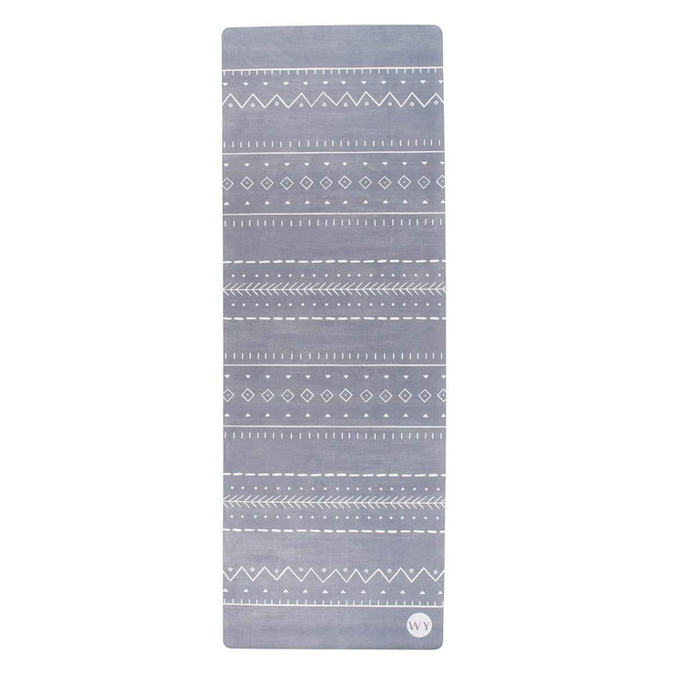 Luxury Yoga Mat Grey Pearl | Luxury Yoga Mat Luxya Singapore