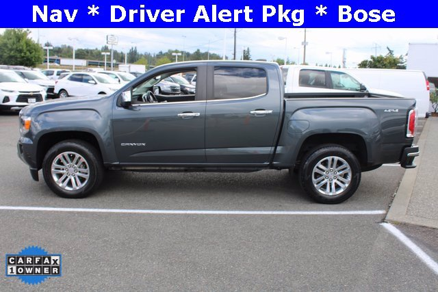 Used 2017 GMC Canyon 4x4 Crew Cab SLT