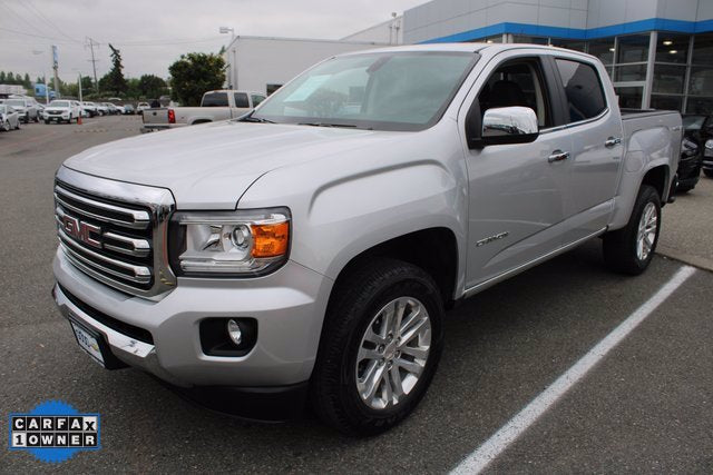 Used 2018 GMC Canyon 4x4 Crew Cab SLT