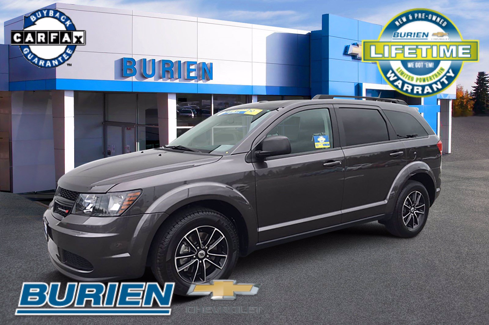 Used 2018 Dodge Journey FWD SE w/ Connectivity Group