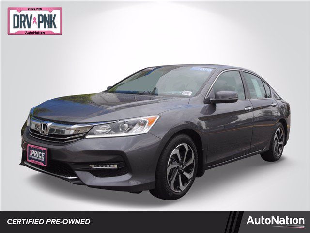 Certified 2016 Honda Accord EX-L Sedan