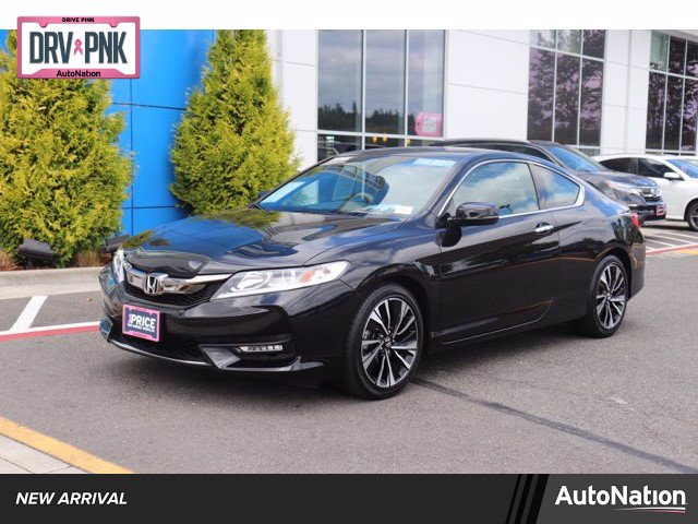 Certified 2017 Honda Accord EX-L Coupe