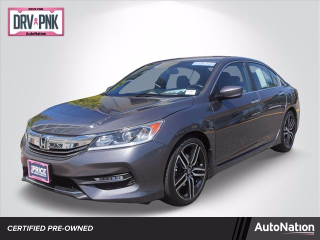 Certified 2017 Honda Accord Sport Sedan