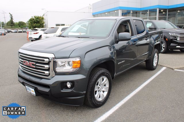 Used 2017 GMC Canyon 4x4 Crew Cab SLE