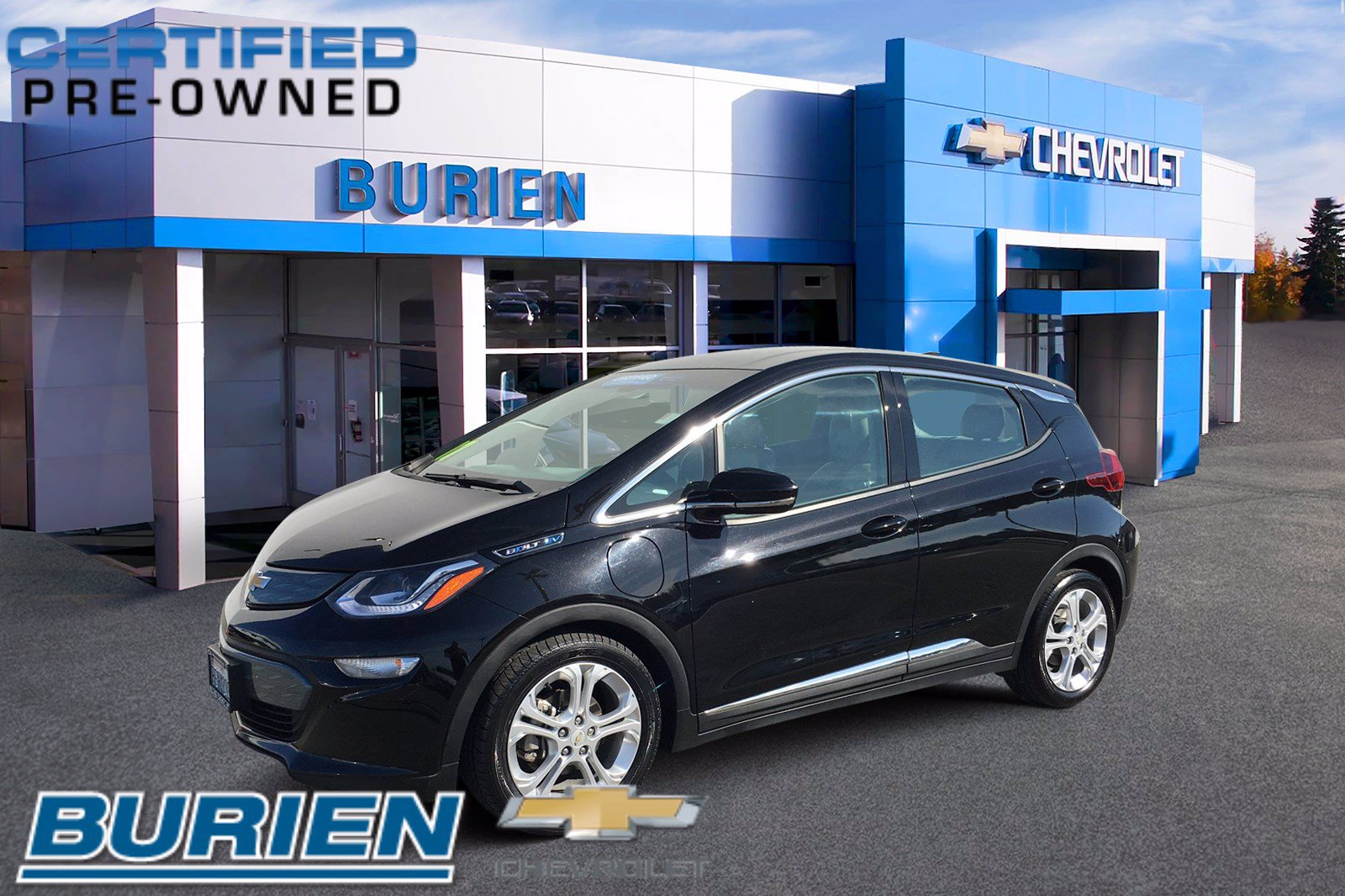 Certified 2017 Chevrolet Bolt LT