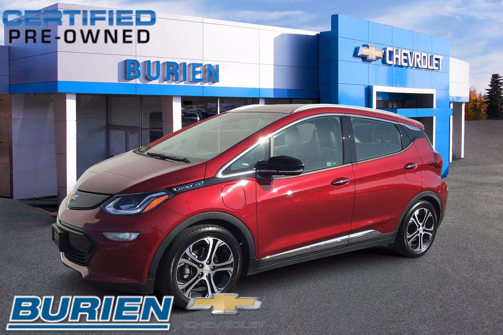Certified 2017 Chevrolet Bolt Premier