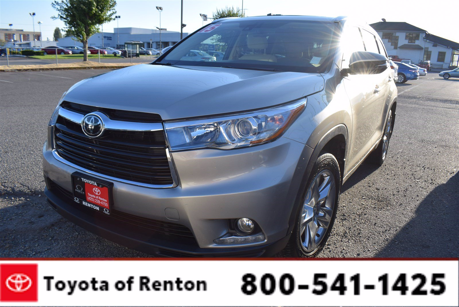 Certified 2015 Toyota Highlander AWD Limited V6