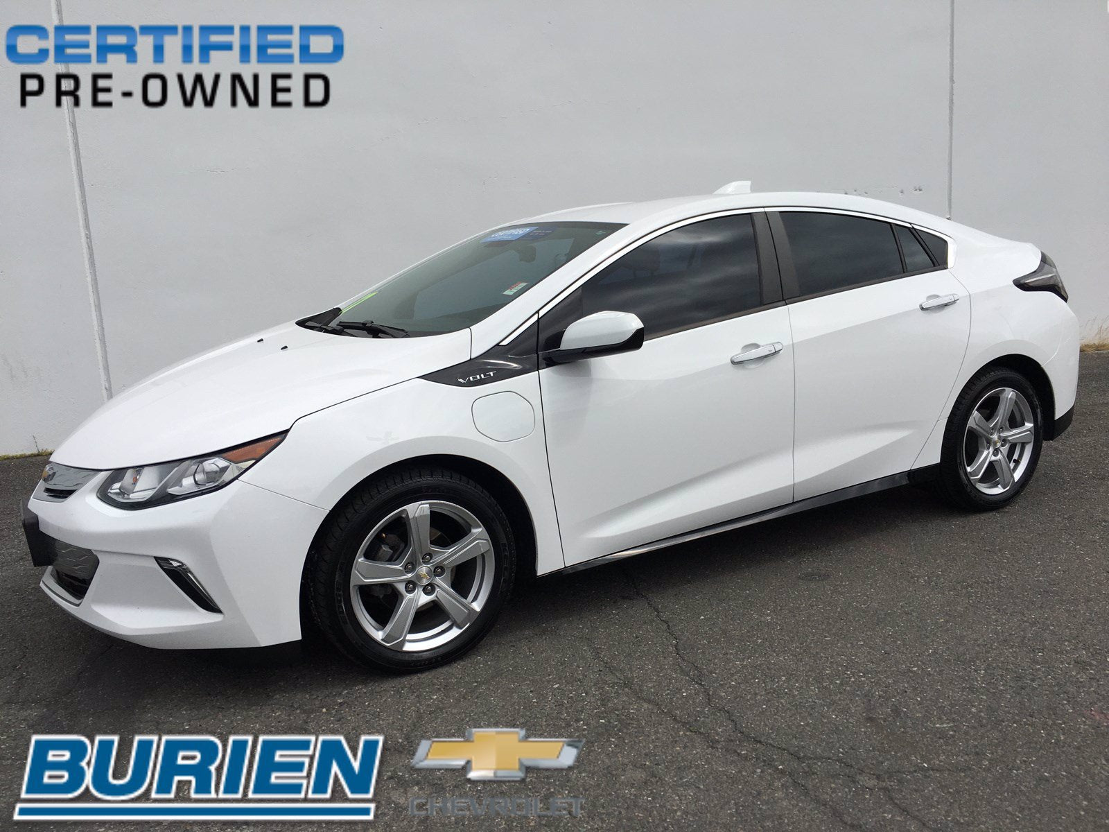 Certified 2017 Chevrolet Volt LT w/ Comfort Package
