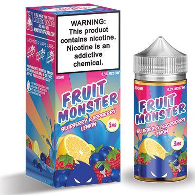 Fruit Monster - Blueberry, Raspberry & Lemon - The Vape Corp