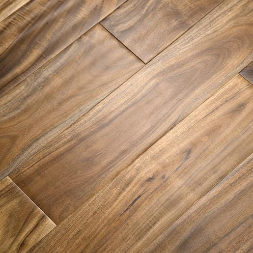 natural acacia wood handscraped flooring