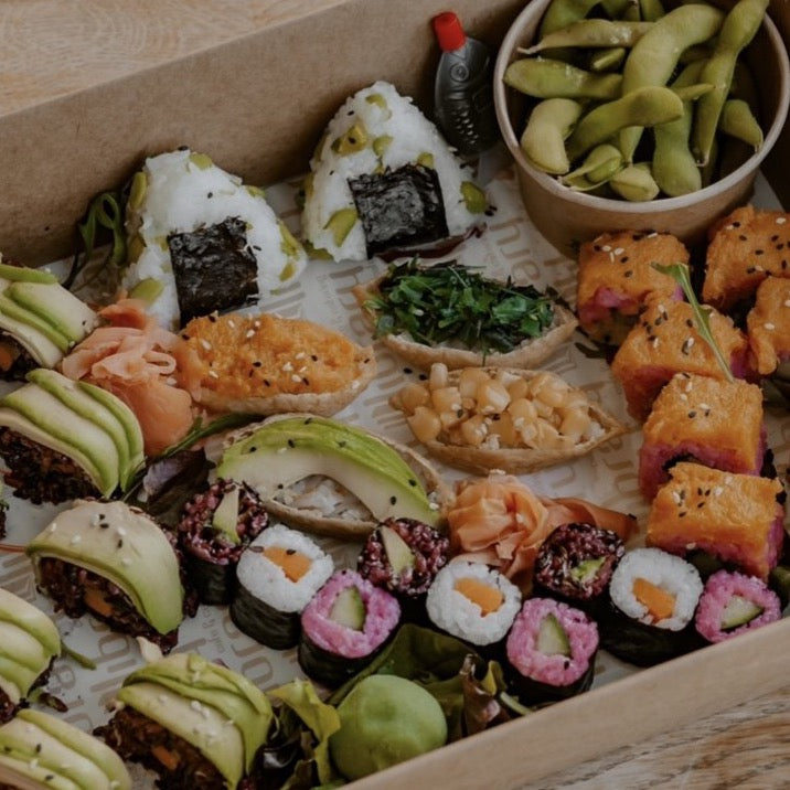 Vegan Sushi Box