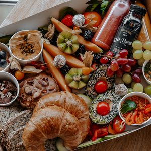 vegan lover, vegan brunch box, vegan breakfast box