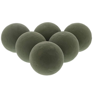 6-Pack Large Floral Wet Foam Sphere for Wedding Party Fresh Flowers Décor 4.5""