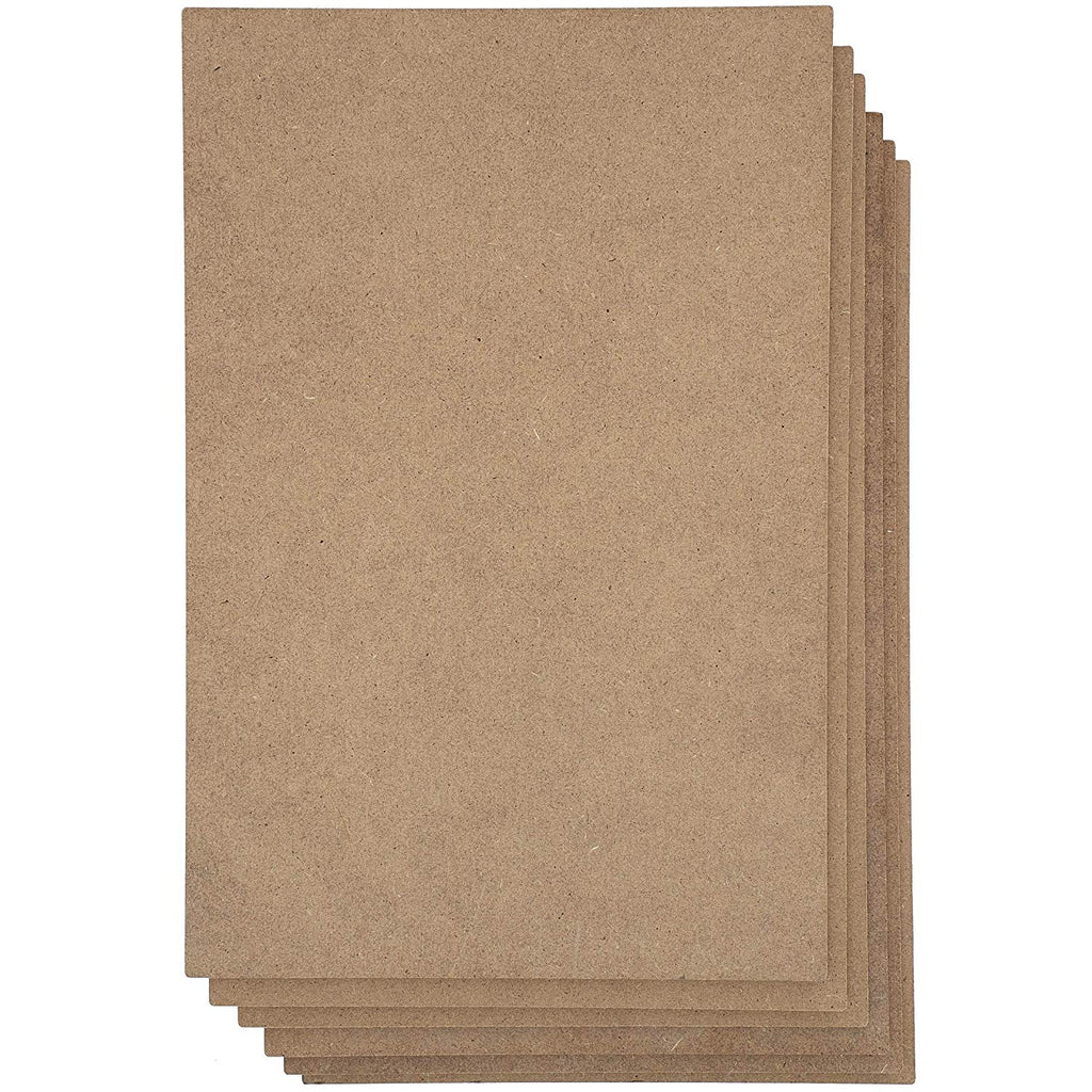 Blank Wood Board, Chipboard Sheets for Crafts (11x14 in, 6 Pack)