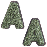 52 Count Iron On Alphabet Letter Patches A - Z For Jean Jacket Tote Back Tee Hat