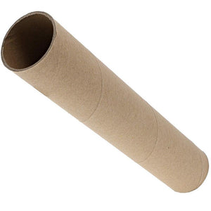"(24 Pack) Cardboard Craft Roll Paper Tubes Brown for DIY Projects, 1.8"" x 10"""