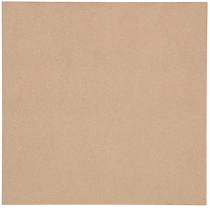 Bright Creations Square MDF Board, 12 Inches (20 Pack)