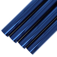 "4-Pack Blue Cellophane Wrapping Roll for Gift Baskets Crafts 17"" x 10 Ft Each"