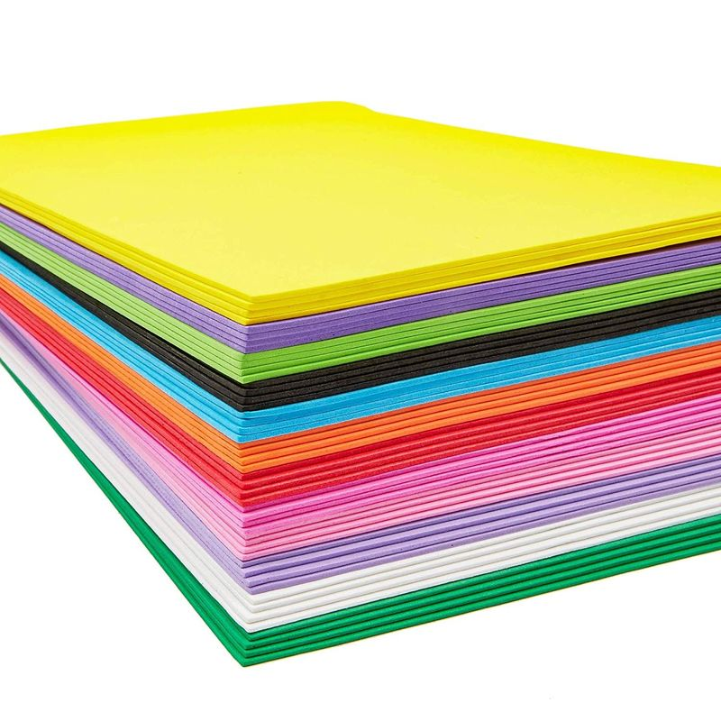 Bright Creations Eva Foam Sheets (9 x 12 in, Pack of 48)