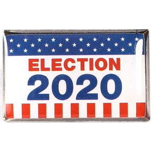 American Flag Election 2020 Lapel Pins (24 Pack)