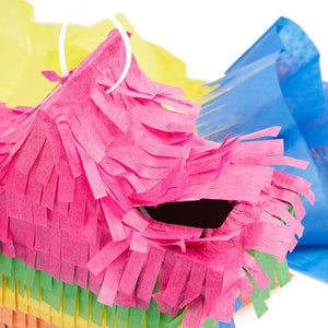 DIY Mini Star Pinata with Tissue Paper Sheets for Kids Parties (5.1 in, Multicolored, 3 Pack)